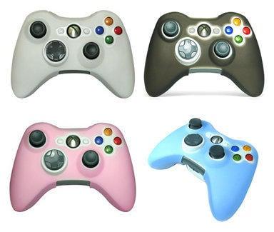 衝評價全新XBOX 360 XOBX360 有線 無線 手把 控制器 專用 果凍套 保護套黑 白 藍 粉紅多樣色可選