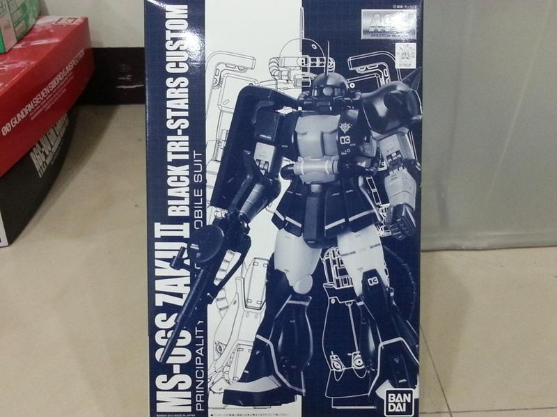 BANDAI  黑色三連星 ZAKU II MS-06S MG 1/100
