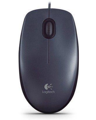 17P【九統電競.滑鼠】羅技 M90 光學滑鼠/有線/400dpi/USB