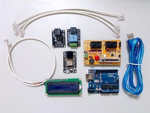 慧手科技(Motoduino): Arduino IoT 物聯網基礎學習套件 (ESP8266)
