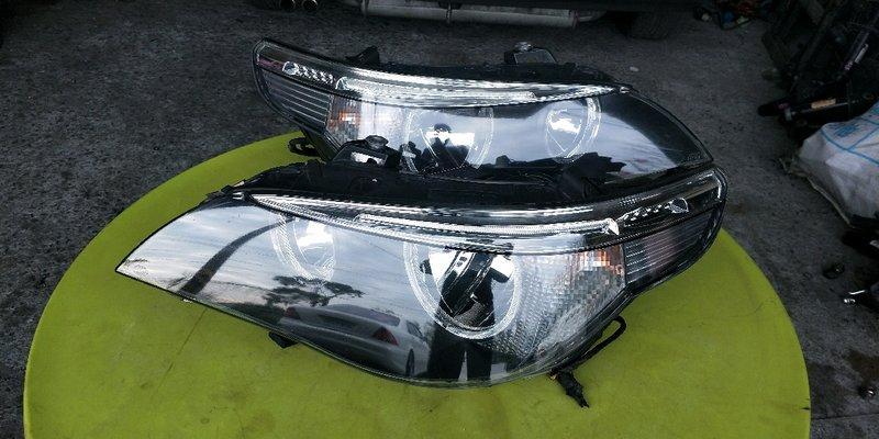 i -wagon日本外匯E60 正廠HELLA光圈魚眼大燈 E60前期