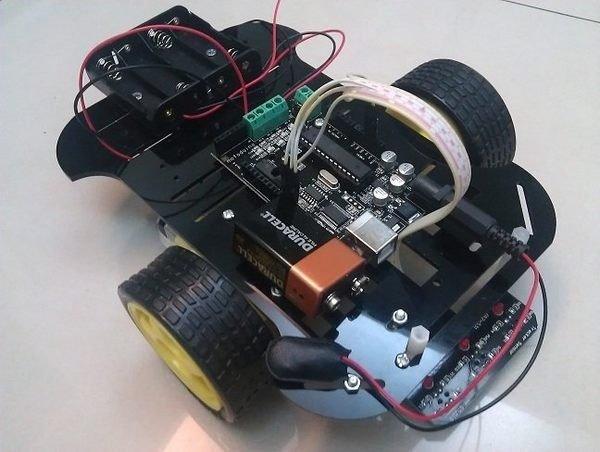 慧手科技(Motoduino):特惠價! Arduino 紅外線循線/循跡 自走車套件組