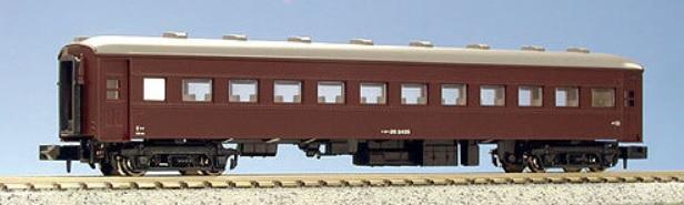 現貨 Kato 5127-1 N規 茶色一般形客車