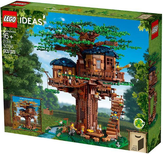 【 BIT 】LEGO 樂高 21318  IDEAS 系列 Tree House 樹屋