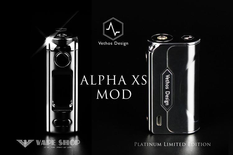 【 沃德維普】 Vethos Design Alpha XS MOD silver (白金限量) 絕非電子 煙 煙油