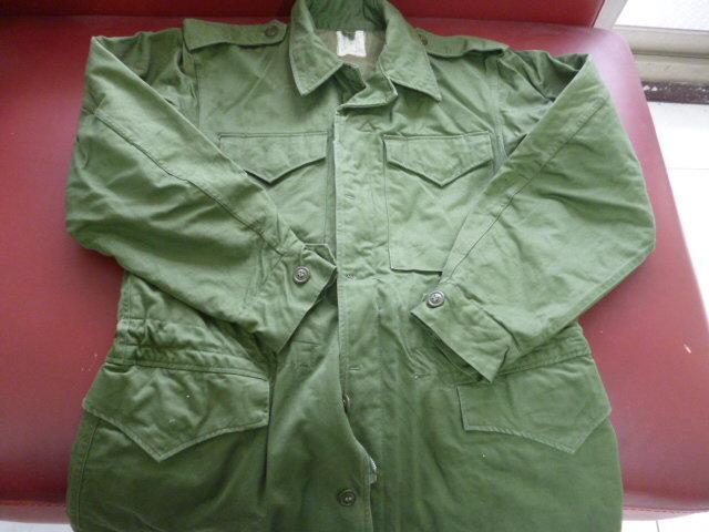 早期海陸草綠卡奇陸戰夾克Size:M-L