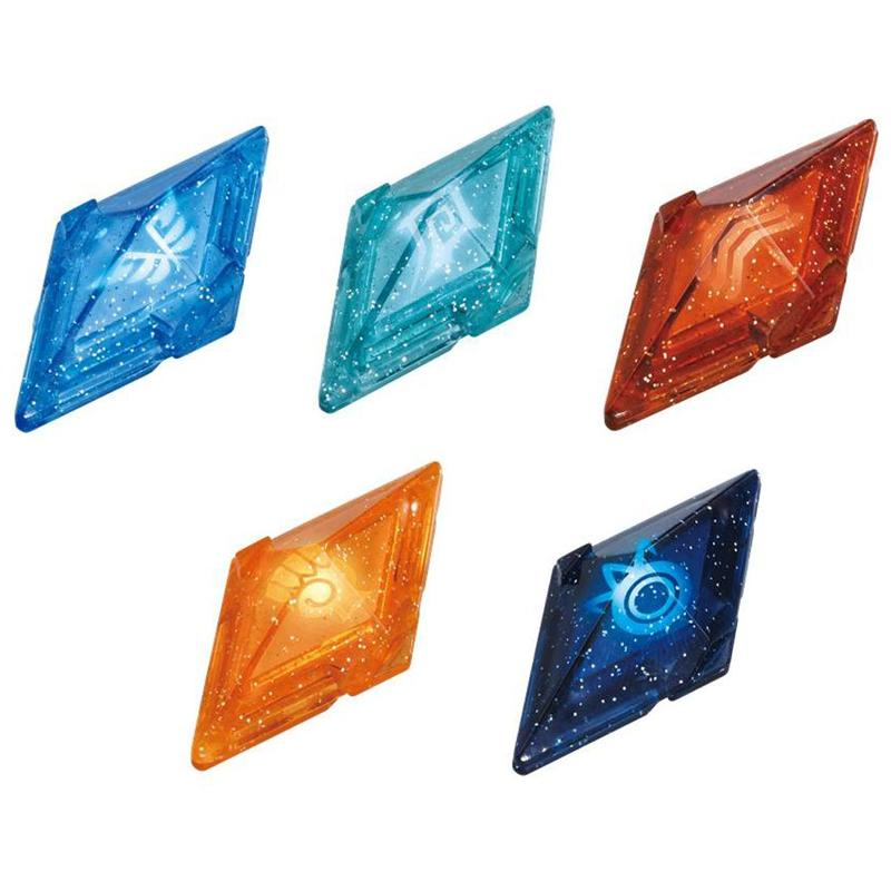 日版 現貨 神奇寶貝 3DS 日月版 Z晶 手環 Ring 04 專用晶片組(太陽 月亮 日月版 精靈寶可夢 噴火龍相關