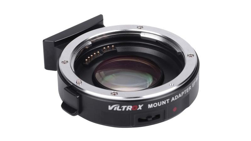 VILTROX 唯卓增光減焦 EF-M2 AF自動對焦轉接環 CANON EF EOS鏡頭轉 PANASONIC m43