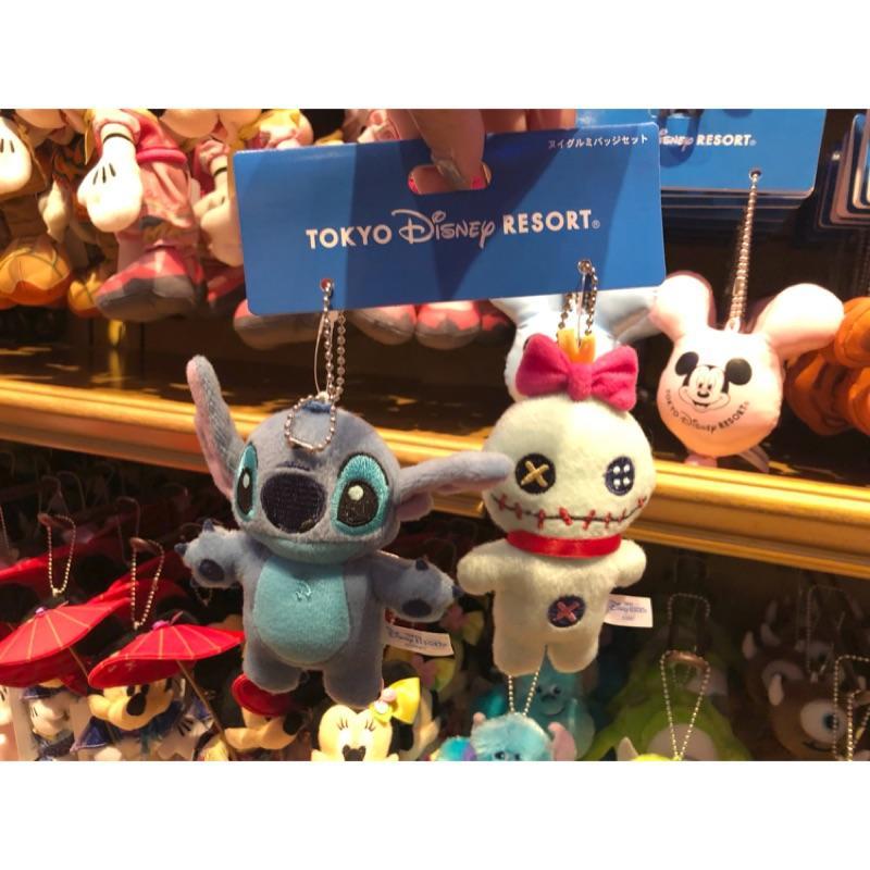 現貨 * 東京 迪士尼樂園 史迪奇 醜丫頭 吊飾 一組