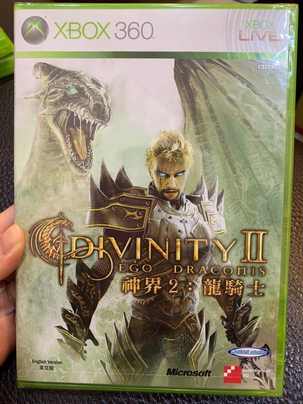 XBOX360 神界2龍騎士 全新未拆封