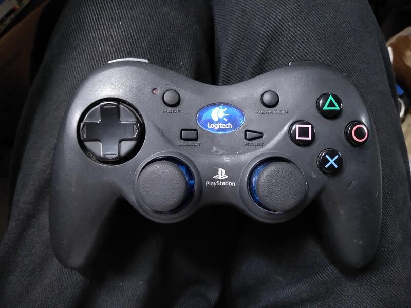 (Yong17) 羅技 playstation 遊戲手把/無線控制器 /無接收器測試