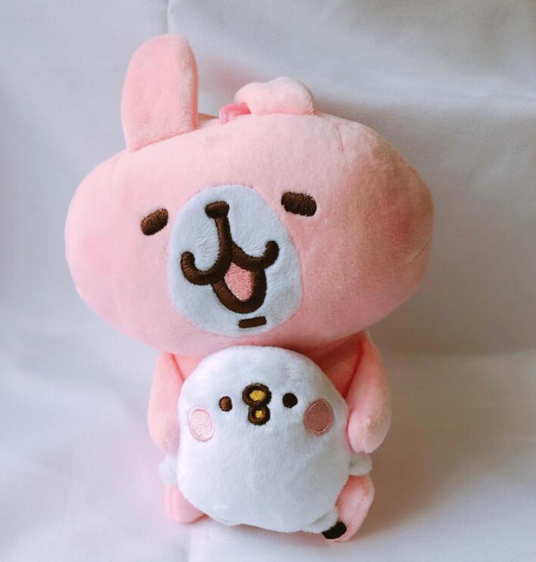 卡娜赫拉 Kanahei 粉紅兔兔抱P助 6吋玩偶 娃娃