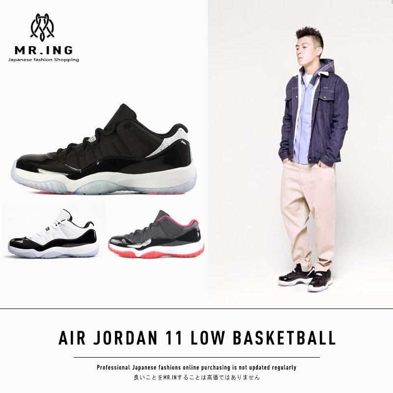 AIR JORDAN 11 LOW CONCORD BRED INFRARED 23 AJ11 黑紅黑白 紅外線 球鞋