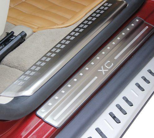 【頂級汽車精品】高品質 原廠型 Volvo XC60 專用 白金 迎賓 踏板 門檻 4片組  附設專業安裝
