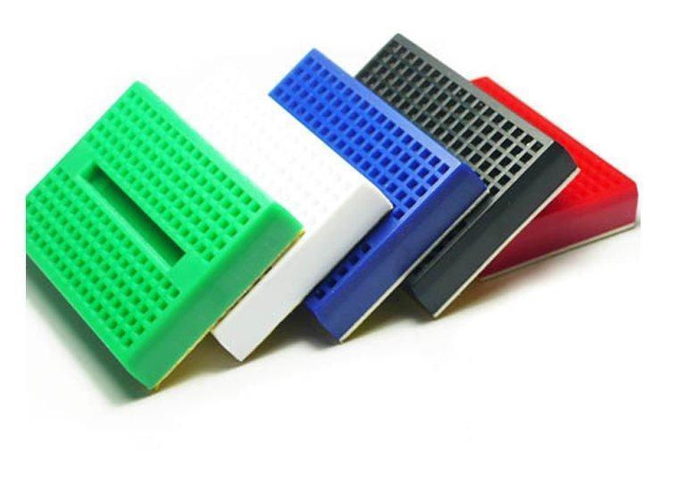 ►209◄迷你麵包板 SYB-170 170孔 35x47x8.5mm  Arduino 彩色迷你麵包板