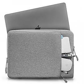 Tomtoc 360° 完全防護 ,灰 適用16吋Apple MacBook Pro&15吋MacBook Pro 2012~2015 |筆電包|保護套|內袋|