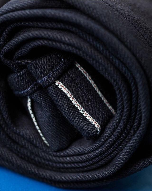 【BDD荷蘭職人品牌】B-01 合身上寬下窄double indigo 14oz 重藍雙染布料 / 28W-38W