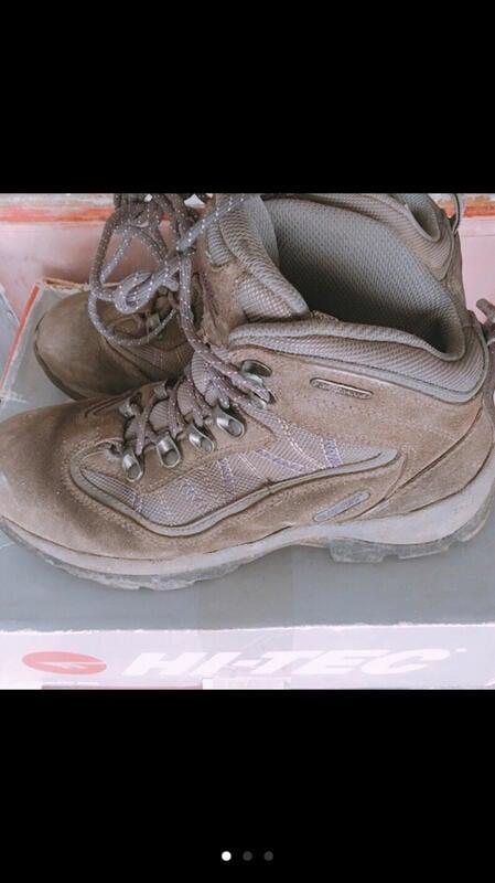 二手 Hi-tec 高筒護踝 女登山鞋