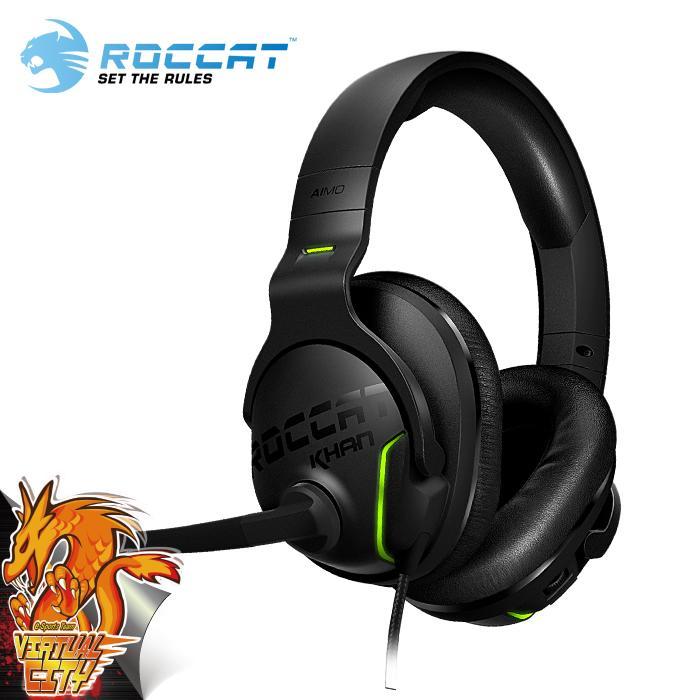 【桃園-虛擬城市】ROCCAT KHAN AIMO 7.1 RGB 電競耳機麥克風
