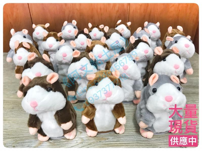 【阿文黏土屋】(現貨可選)會說話的倉鼠錄音倉鼠 互動式萌萌鼠 倉鼠 老鼠