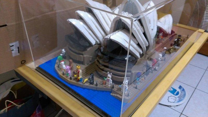 【群樂】專業壓克力製作 LEGO 10234 雪梨歌劇院專用~可通用辛普森71006