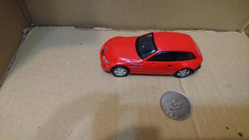 (中古/優良品) HIGH SPEED 小汽車 迴力車 BMW Z3M Coupe