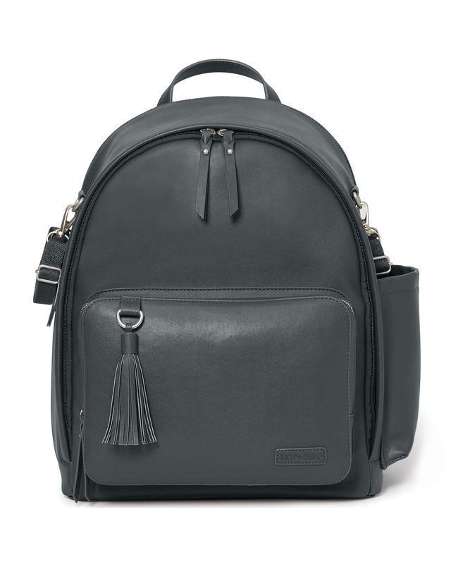 [預購/代購] Skip Hop Greenwich Backpack(SMOKE)媽媽包 後背包 尿布 推車 木炭黑