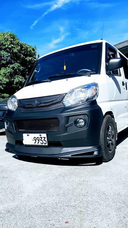 車酷爆龜坊-三菱中華新款菱利1.3廂車-貨斗保桿下巴素材空力套件完美貼地