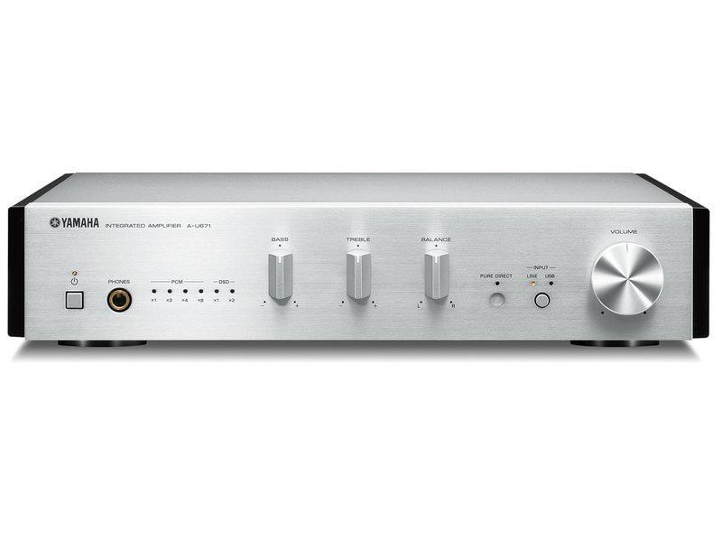 Yamaha A-U671 綜合擴大機 (PMC Usher V-601 JBL Control 5 ATC AE)