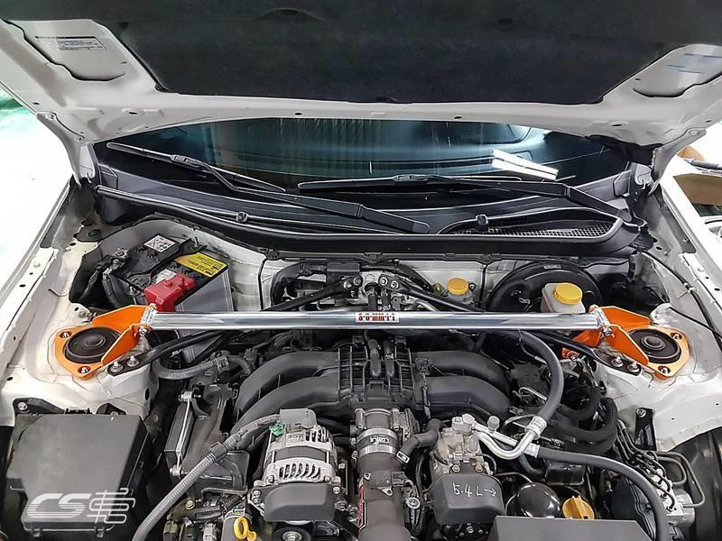 CS車宮車業 SUMMIT 鋁合金 前上拉桿 (兩點式)含總泵座 TOYOTA GT 86/FRS/BRZ