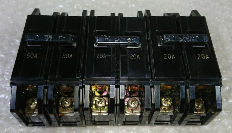 ◢ 簡便宜 ◣ 二手 士林電機 BH型 無熔絲開關 無熔線斷路器 2P 10A 15A 20A 30A 40A 50A
