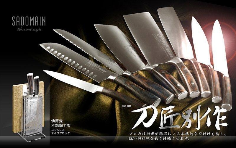 【露天A1店】仙德曼-SADOMAIN 刀匠別作-日式菜刀(角) KK709
