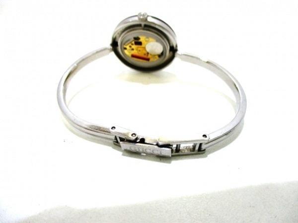 可使用~GUCCI 古馳~可換圈手錶~11個不同顏色的彩色圓框~26X26mm~錶帶長17cm~
