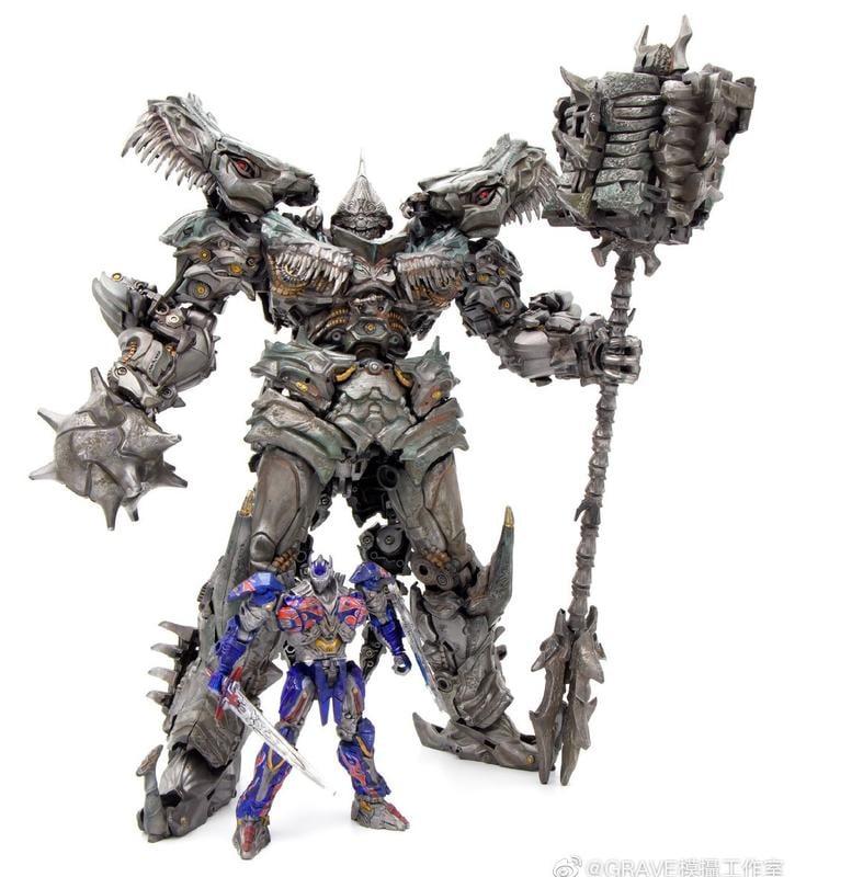 【魯巴夢想飛船】現貨 絕創 G-creation MTST-01 WRATH 雕像 變形 鋼鎖 鋼索
