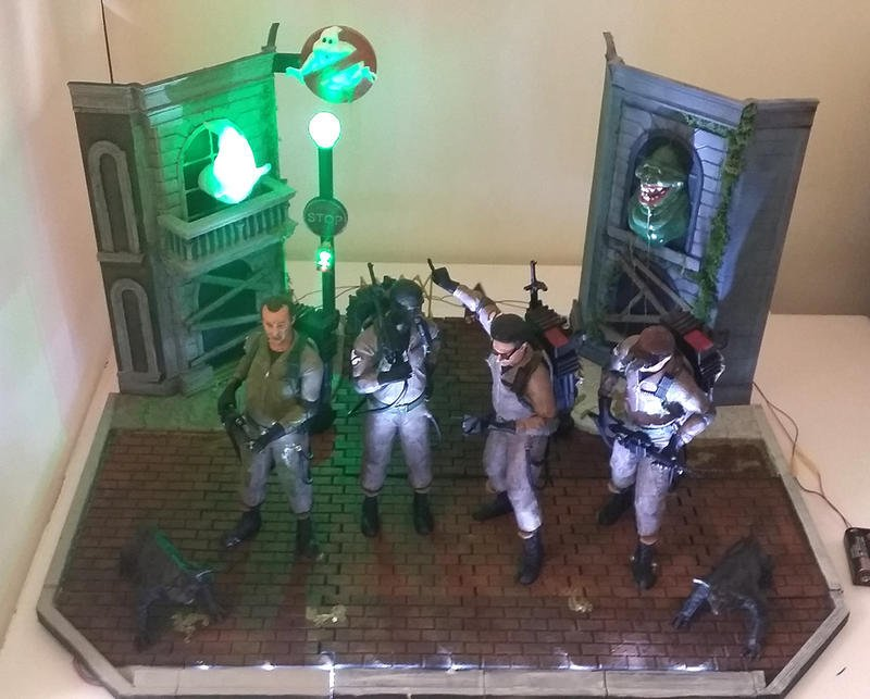 [Roadies] 電影Ghost Buster魔鬼剋星紀念模型,3D列印公仔