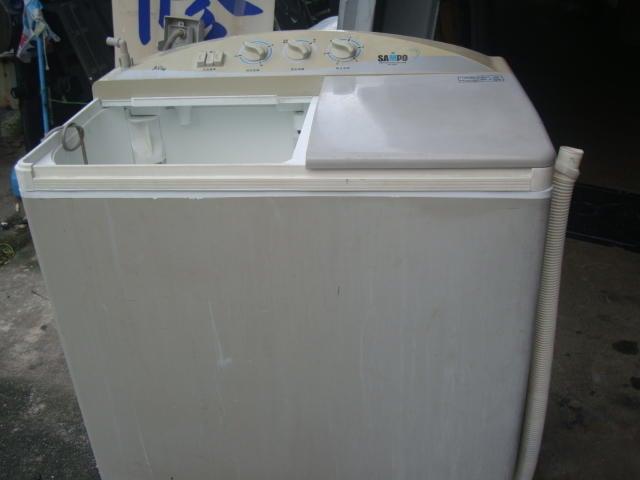 高雄屏東萬丹電器醫生 中古二手 聲寶9公斤洗衣機 自取價4000