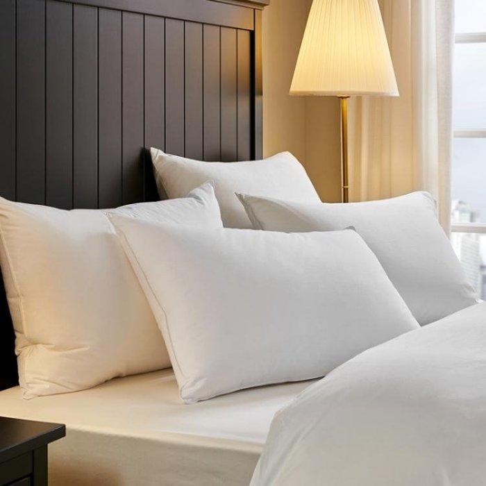 F7五星級酒店枕頭 超軟成人枕頭枕芯單人全棉護頸枕情侶igo