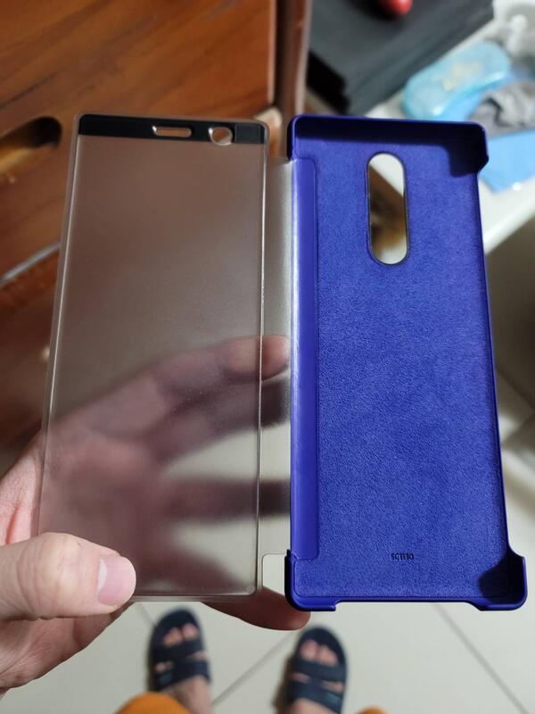 Sony xperia 1 原廠視窗皮套 SCTI30  650元含運(限Ct8012下標)