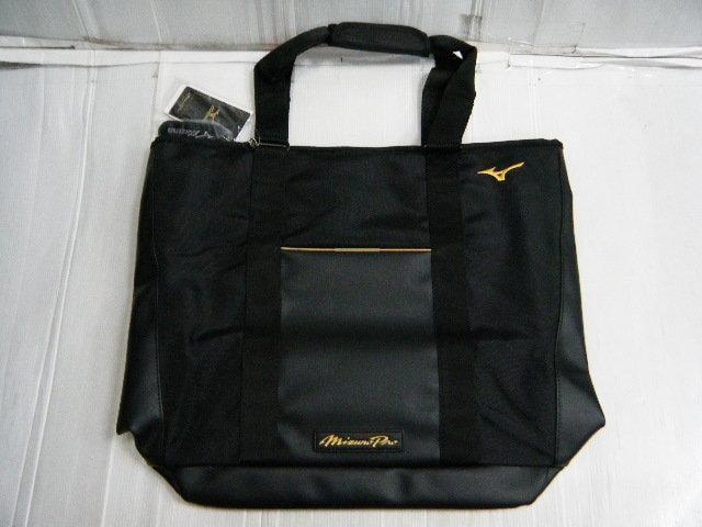 新莊新太陽 MIZUNO PRO 美津濃 限定品 1FJD540509 輕量 質感 黑 肩背包 扥特包 特價2200