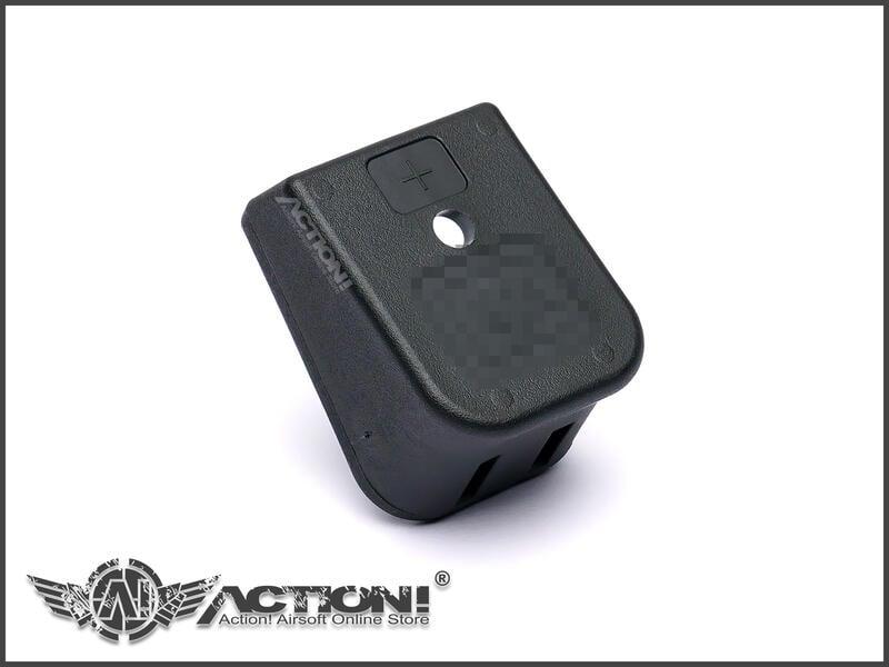 【Action!】現貨)VFC -  GLOCK原廠零件《+2增厚造型 彈匣底板(黑色)》裝飾/加長/加厚