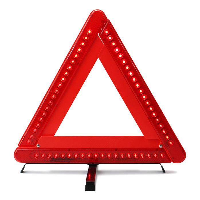【L116 LED警示牌】LED款 三角反光警示牌 警示架 停車反光警示標誌LED 三角架 LED燈三角警示牌 艾比讚