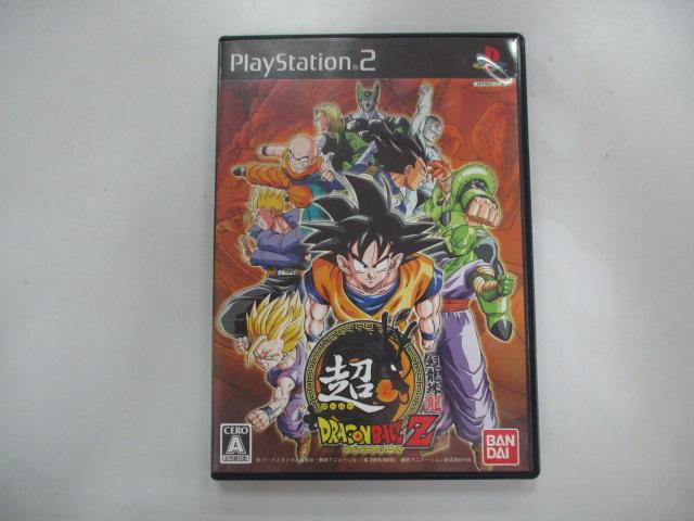 PS2 日版 GAME 超級七龍珠 Z(光碟刮傷,無說明書)(41028018)