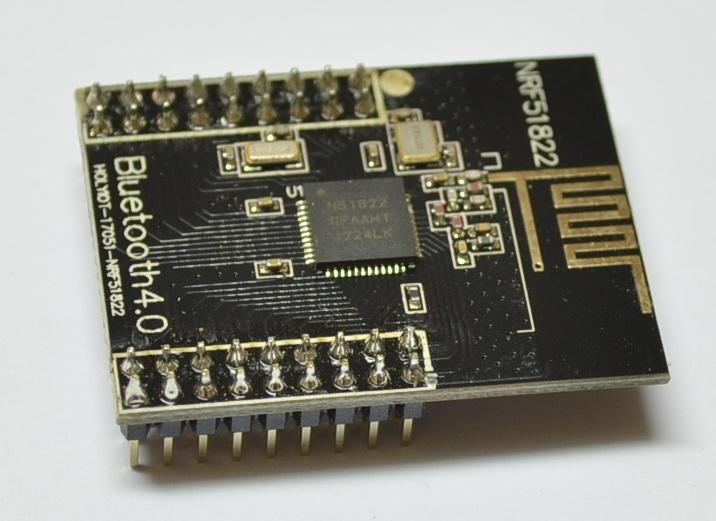 NRF51822模組 藍牙模組 ble4.0開發板 2.4G 低功耗 板載天線【030】