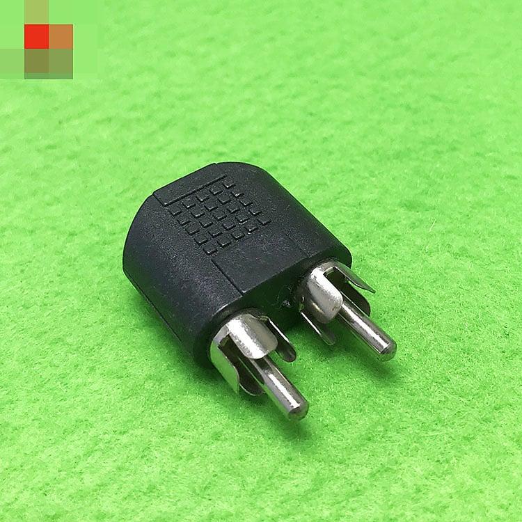 音訊轉換頭 3.5MM母轉雙蓮花公插頭 公RCA頭一分二轉耳機音訊線座 [365103]W313-20200210