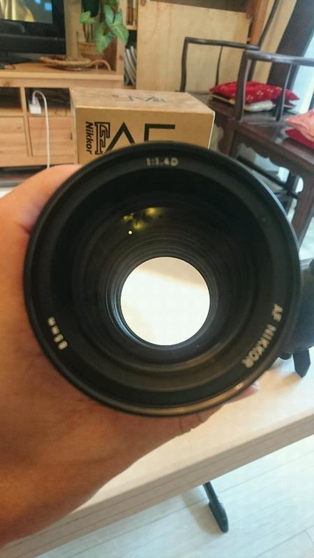 nikon 85mm f1.4d. 近全新