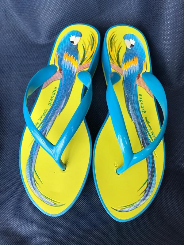 全新 Grendha巴西 綠色夾腳拖鞋38/39(24.5) 人字拖