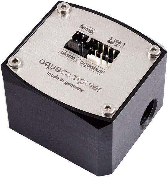 "[水冷散熱]德國Aqua Computer Flow sensor ""high flow"" USB  電子水流計"