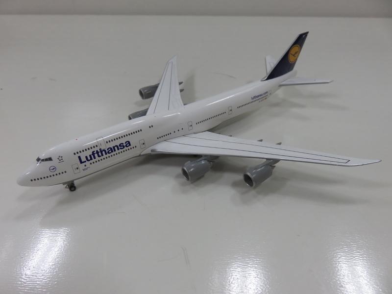 宗鑫貿易 1/500 Herpa Wings HW516068-005 Boeing 747 8 漢莎航空塗裝