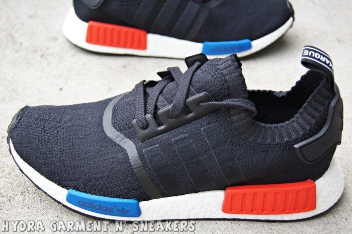 official photos 648ef e72fc 【HYDRA】adidas NMD Runner PK OG BOOST 初代 輕量 限量 黑白 紅藍【S79168】