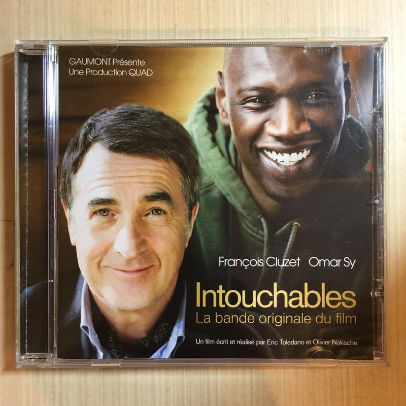 Intouchables 逆轉人生電影原聲帶 music by Ludovico Einaudi (TF1發行)
